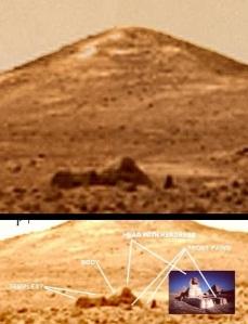 Esfinge en Marte
