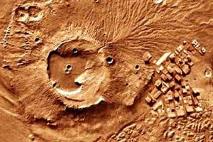 Marte ruinas